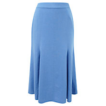 Buy Viyella Fit Flare Skirt, Periwinkle Online at johnlewis.com