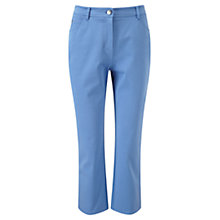 Buy Viyella Smart Capri Jeans, Periwinkle Online at johnlewis.com