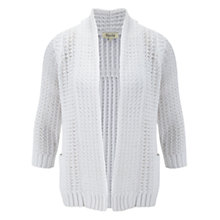 Buy Viyella Tape Yarn Cardigan, White Online at johnlewis.com