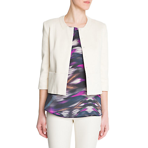 Buy Mango Minimalist Jacket Online at johnlewis.com