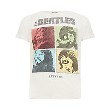 Buy Hilfiger Denim Beatles Print T-Shirt Online at johnlewis.com