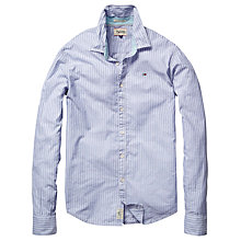 Buy Hilfiger Denim Ally Fine Stripe Long Sleeve Shirt Online at johnlewis.com