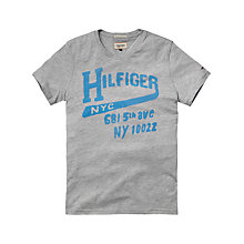 Buy Hilfiger Denim Federer NYC Crew Neck T-Shirt Online at johnlewis.com