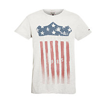 Buy Hilfiger Denim Lars US Flag Graphic T-Shirt Online at johnlewis.com