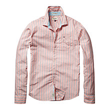 Buy Hilfiger Denim Anton Stripe Long Sleeve Shirt Online at johnlewis.com
