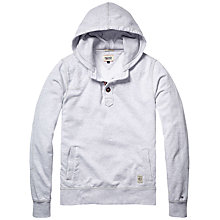 Buy Hilfiger Denim Button Hoodie Jumper Online at johnlewis.com