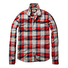 Buy Hilfiger Denim Abi Check Long Sleeve Shirt Online at johnlewis.com