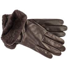 Buy UGG Leather Smart Gloves Online at johnlewis.com