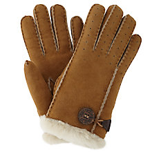 Buy UGG Bailey Sheepskin Gloves Online at johnlewis.com