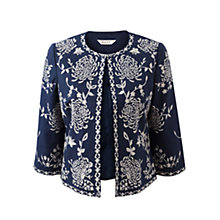 Buy East Indira Jacket, Royal Blue Online at johnlewis.com