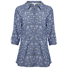 Buy White Stuff City Slicker Shirt, Cool Air Online at johnlewis.com