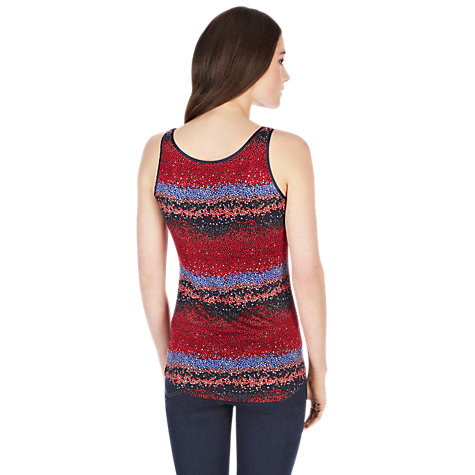 Buy Oasis Botanical Print Vest Top, Multi Online at johnlewis.com