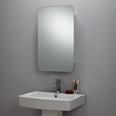 John Lewis Mirrored Sliding Door Cabinet
