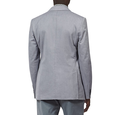 Buy Reiss Harrison 2 Button Notch Lapel Blazer, Blue Online at johnlewis.com
