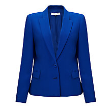 Buy COLLECTION by John Lewis Adrienne Two Button Tailored Jacket, Electric Blue Online at johnlewis.com