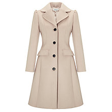 Buy Somerset by Alice Temperley Fit and Flare Coat, Mink Online at johnlewis.com