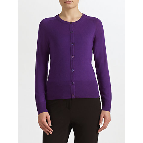 Buy COLLECTION by John Lewis Abigale Merino Crew Neck Cardigan Online at johnlewis.com