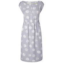 Buy White Stuff Tewin Linen Blend Dress, Whisper Grey Online at johnlewis.com