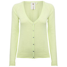 Buy White Stuff Tippi Cardigan, Zesty Lime Online at johnlewis.com