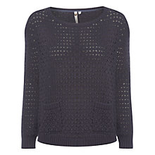 Buy White Stuff Holy Jumper, Twilight Blue Online at johnlewis.com