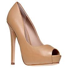 Buy KG by Kurt Geiger Admire Leather Stiletto Heel Court Shoes Online at johnlewis.com