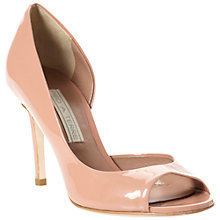 Buy Pied A Terre Carland Patent Leather Cutaway Court Shoes Online at johnlewis.com
