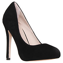 Buy KG by Kurt Geiger Amore Stiletto Heel Court Shoes Online at johnlewis.com