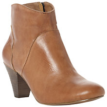 Buy Steve Madden Proccess Round Toe Ankle Boots, Tan Online at johnlewis.com