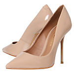 Kurt Geiger Ellen Court Shoes, Nude