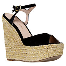 Buy KG by Kurt Geiger Nancy Espadrille Wedge Heel Sandals Online at johnlewis.com