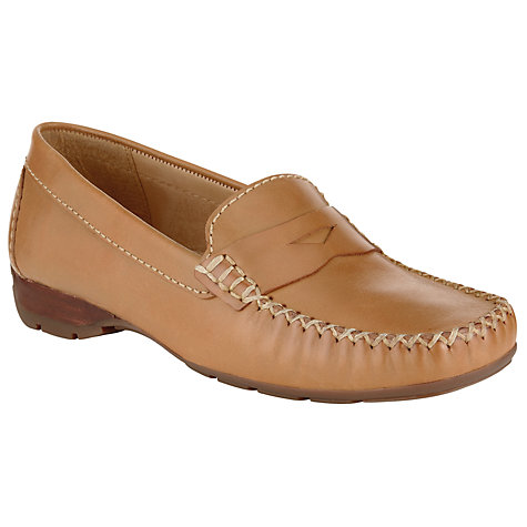 Buy John Lewis London Loafers, Tan Online at johnlewis.com