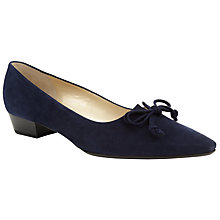 Buy Peter Kaiser Lizzie Court Shoes, Navy Online at johnlewis.com