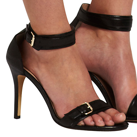 Buy Mint Velvet Double Buckle Leather Sandals Online at johnlewis.com