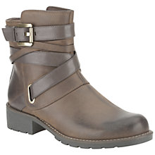 Buy Clarks Orinoco Sash Ankle Boots, Brown Online at johnlewis.com
