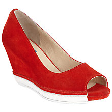 Buy Collection WEEKEND by John Lewis Magda Wedged Court Shoes Online at johnlewis.com