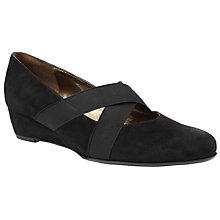 Buy Peter Kaiser Jeska Court Shoes, Black Online at johnlewis.com