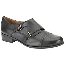 Buy Clarks Hamble Park Shoes, Black Online at johnlewis.com