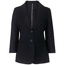 Buy Aquascutum Linen Blazer Online at johnlewis.com