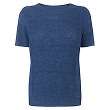 Buy Aquascutum Studded Short Sleeved Jumper Online at johnlewis.com