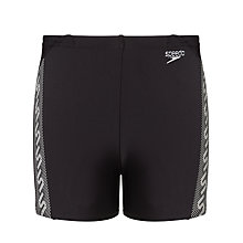 Buy Speedo Boys' Monogram Aquashorts Online at johnlewis.com