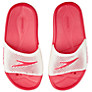 Buy Speedo Kids' Slides, Pink/White Online at johnlewis.com