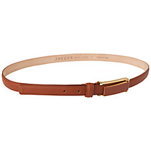 Buy Jaeger Rectangular Buckle Belt, Tan Online at johnlewis.com
