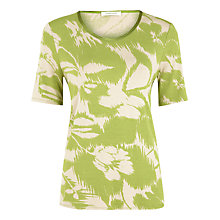 Buy Windsmoor Sage Print Jersey Top, Multi Online at johnlewis.com