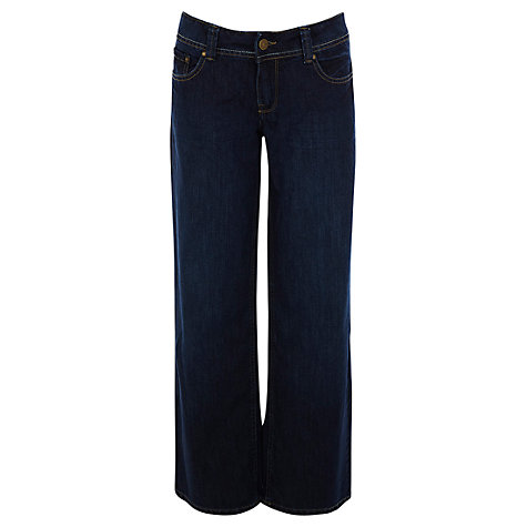 Buy Oasis Garnet Wide Leg Jeans, Denim Online at johnlewis.com