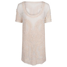 Buy French Connection Nanette Dress, Classic Cream Online at johnlewis.com