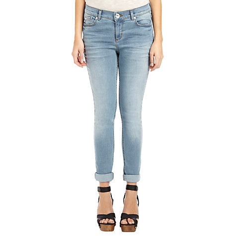 Buy Oasis Cherry Cropped Jeans Online at johnlewis.com