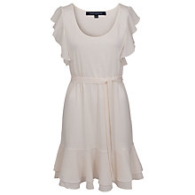 Buy French Connection Polly Dress, Daisy White Online at johnlewis.com