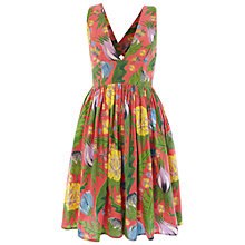 Buy French Connection Maggie Dress, Vibrant Pink Online at johnlewis.com