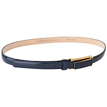 Buy Jaeger Patent Trouser Belt Online at johnlewis.com