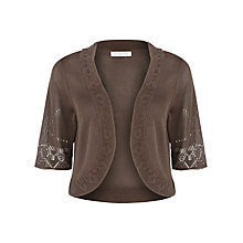 Buy Windsmoor Knitted Bolero, Olive Online at johnlewis.com